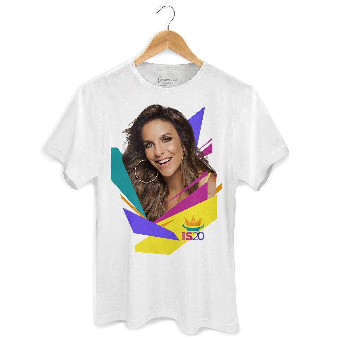 Camiseta Masculina Ivete Sangalo Foto IS20