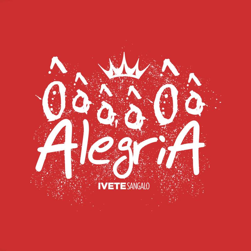 Camiseta Masculina Ivete Sangalo ��� Alegria
