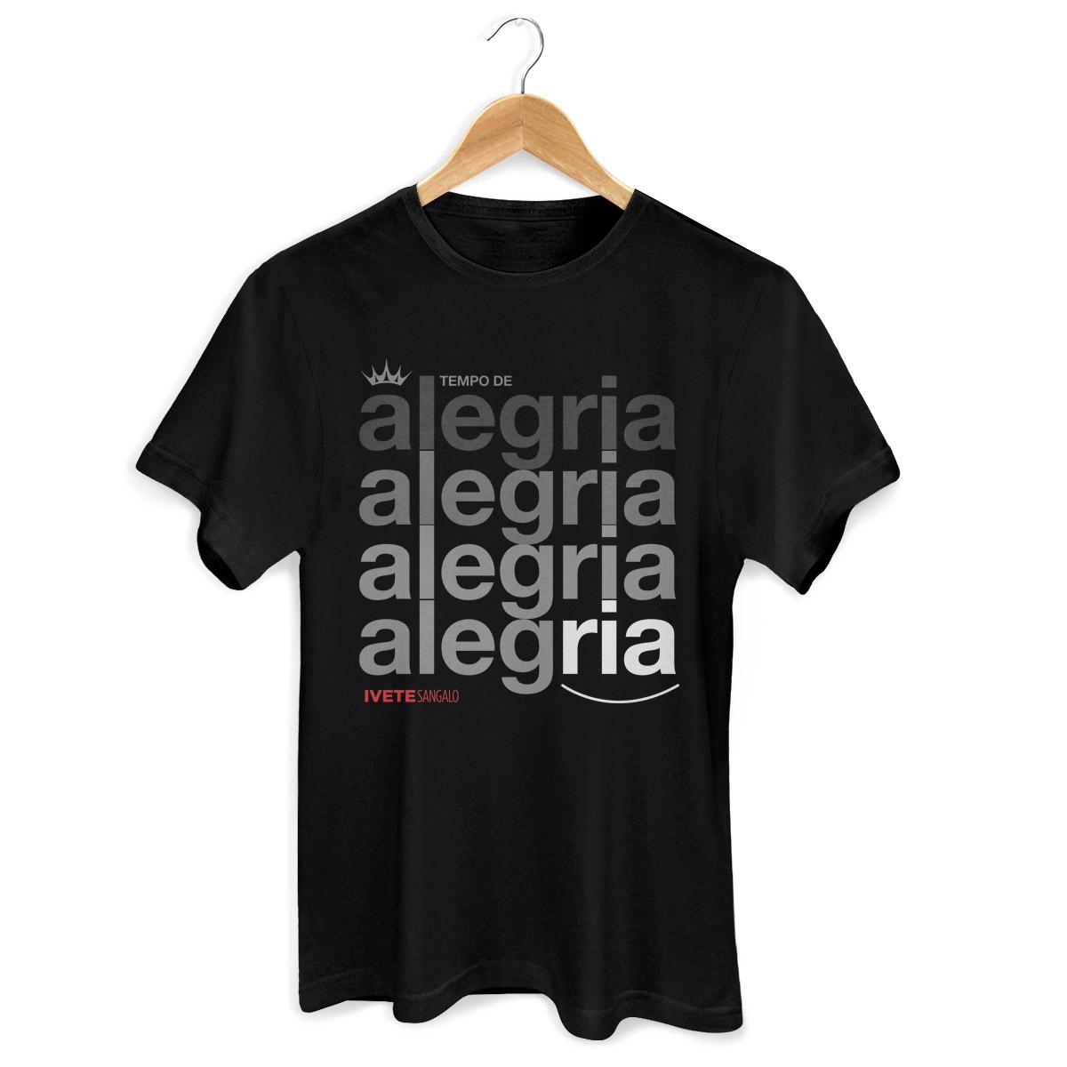Camiseta Masculina Ivete Sangalo Tempo de Alegria
