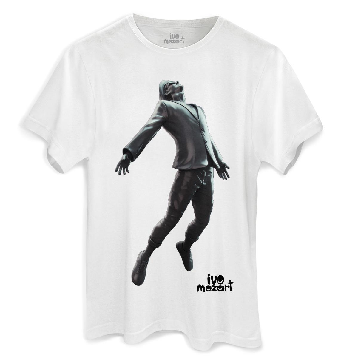 Camiseta Masculina Ivo Mozart 29 Quer Um Beijo Meu?
