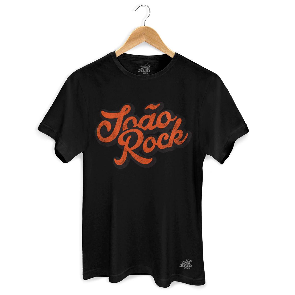 Camiseta Masculina Jo�o Rock Logo