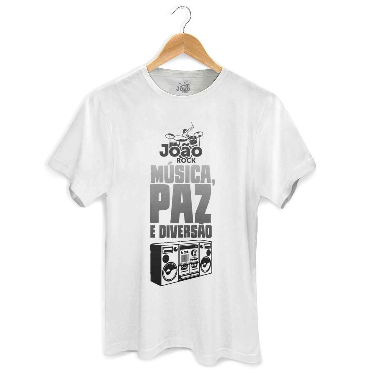 Camiseta Masculina Jo�o Rock M�sica