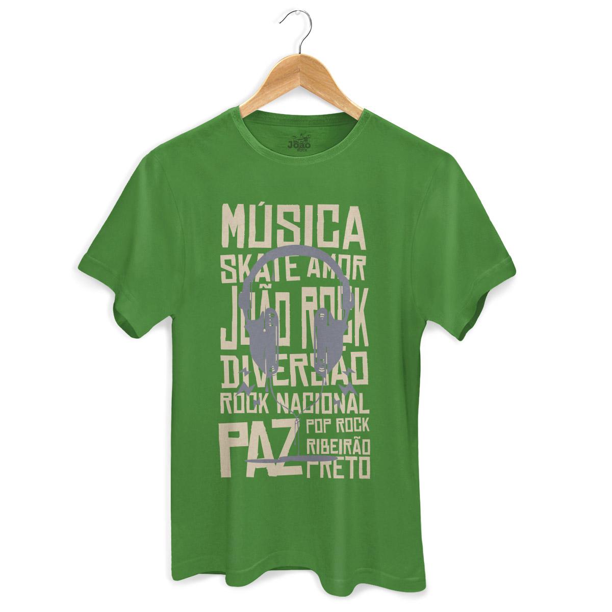 Camiseta Masculina João Rock Rock Nacional