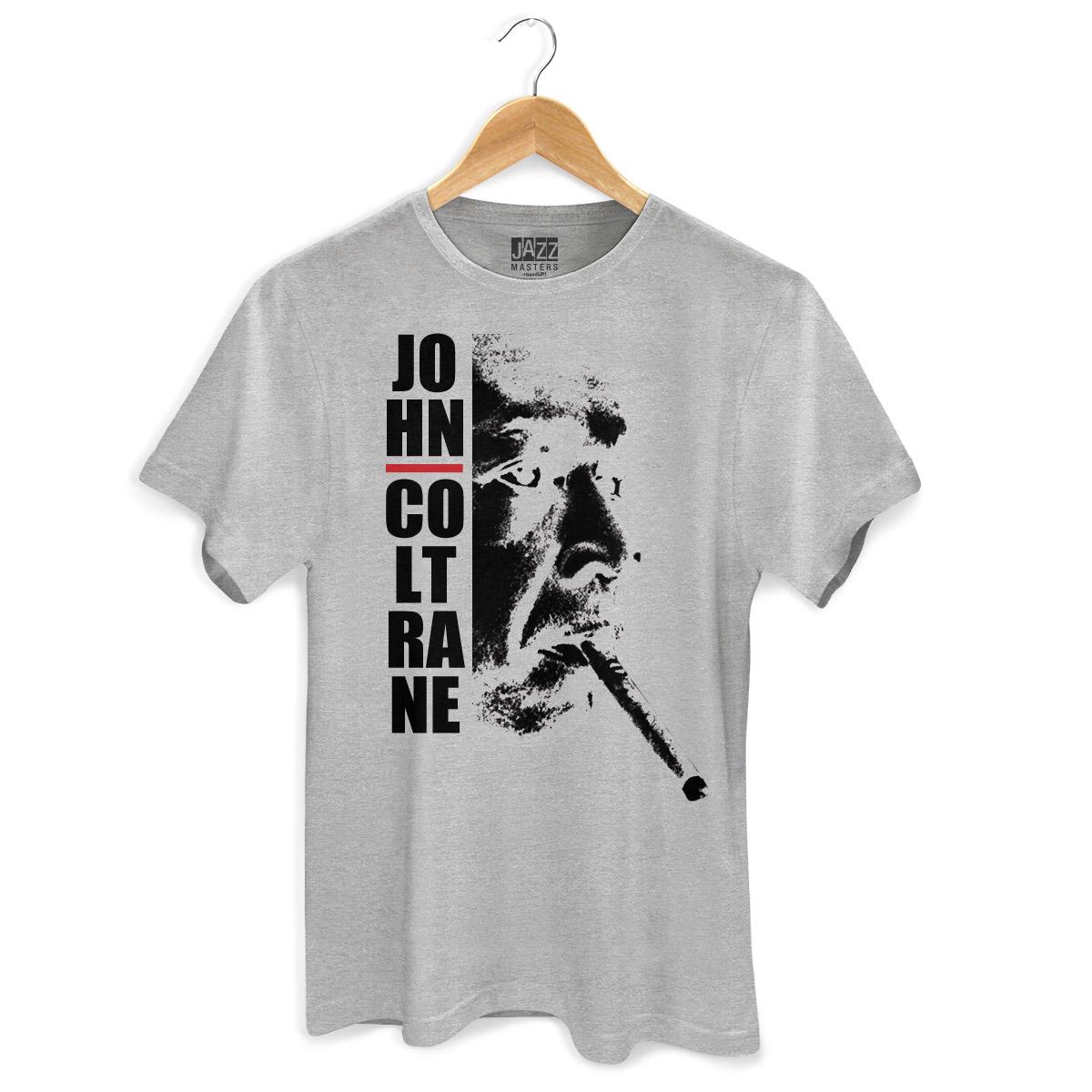 Camiseta Masculina John Coltrane Smoke
