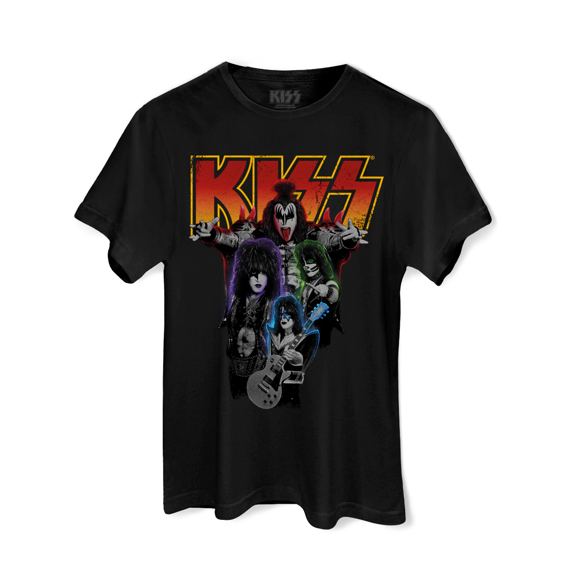 Camiseta Masculina Kiss Kissology Basic