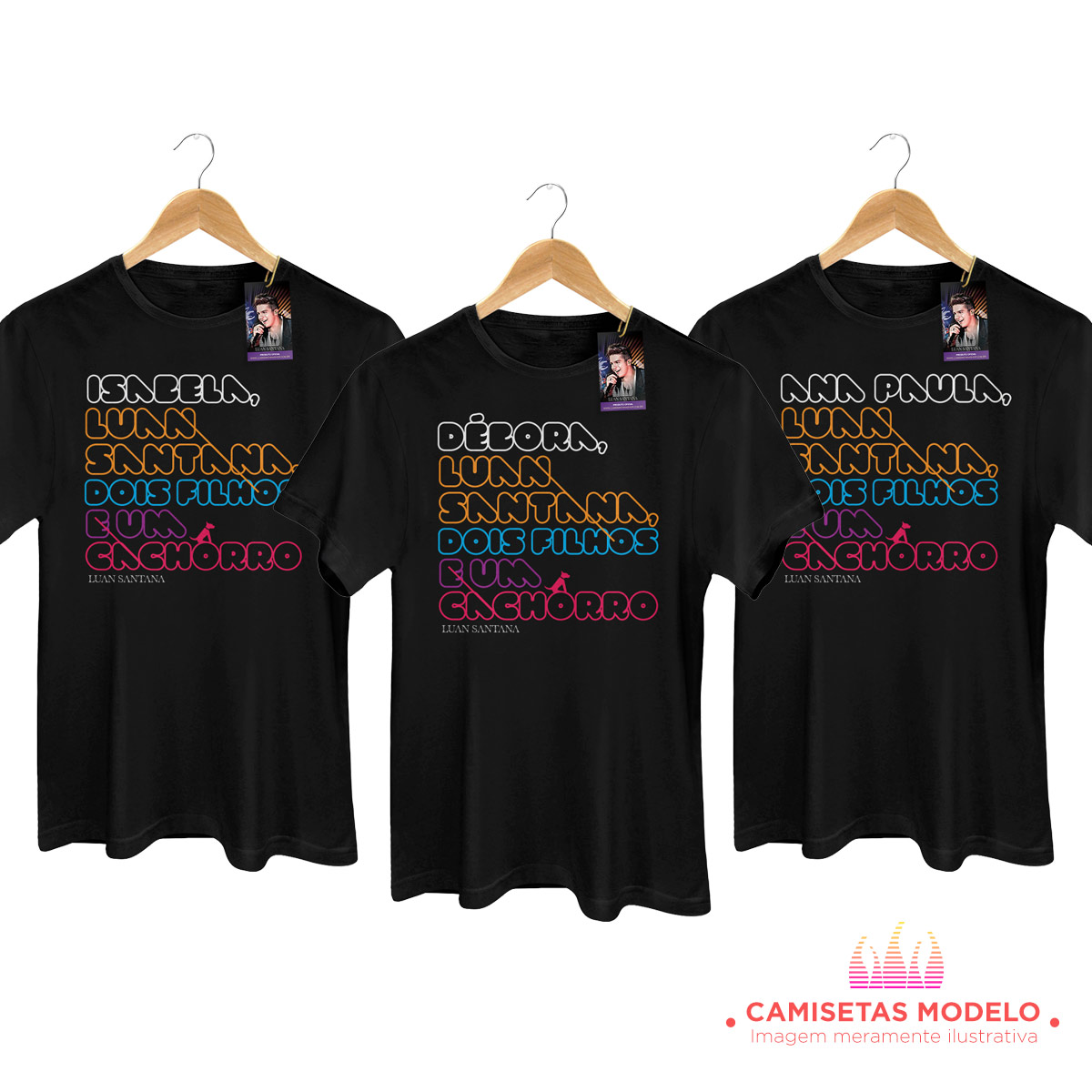 Camiseta Masculina Luan Santana Cê Topa? 2