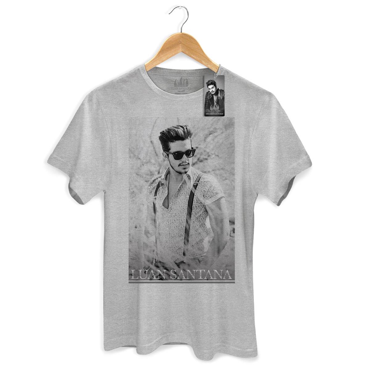 Camiseta Masculina Luan Santana Sempre com Você