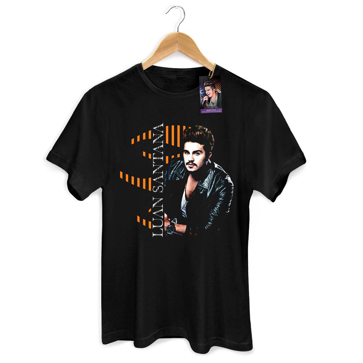 Camiseta Masculina Luan Santana Type