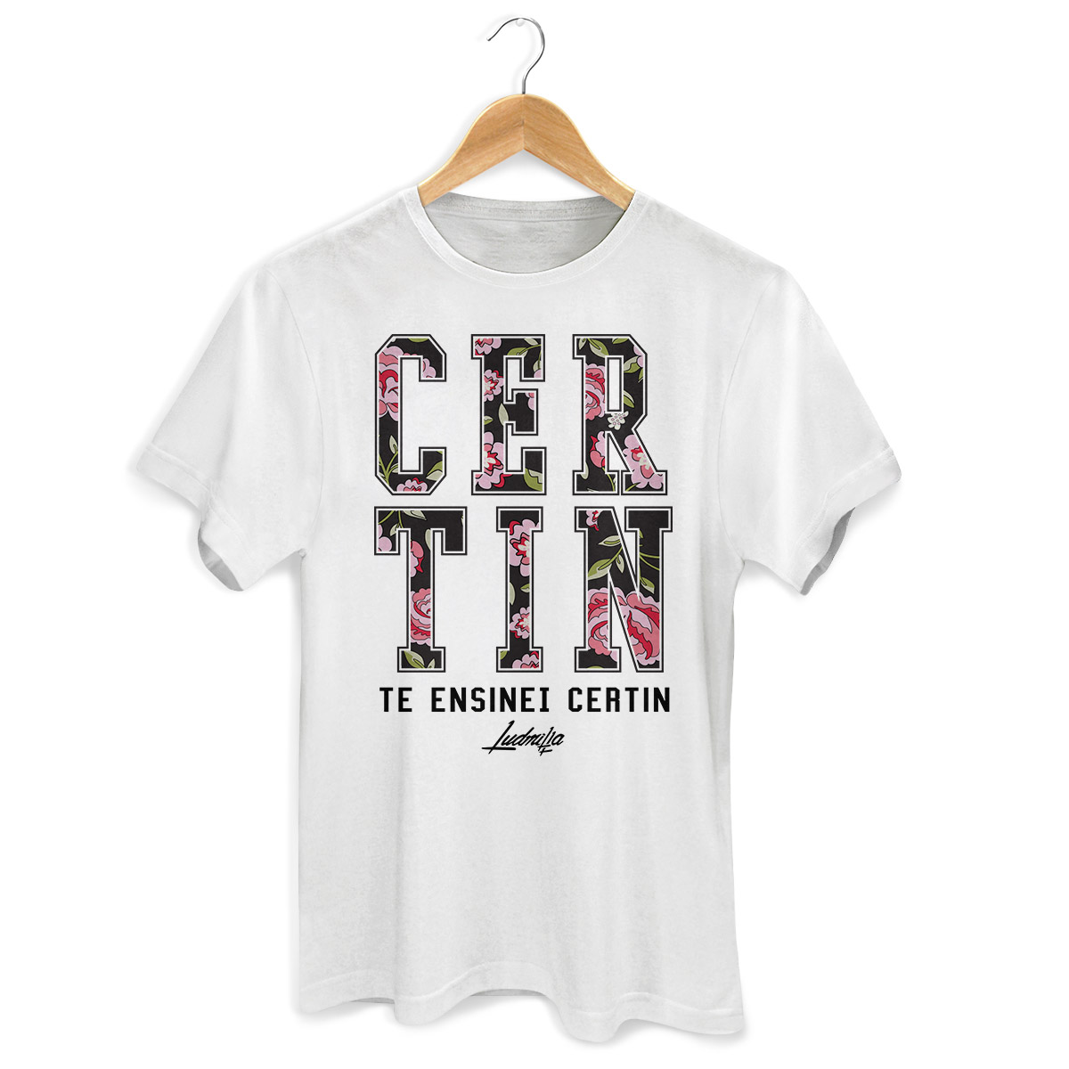 Camiseta Masculina Ludmilla Certin