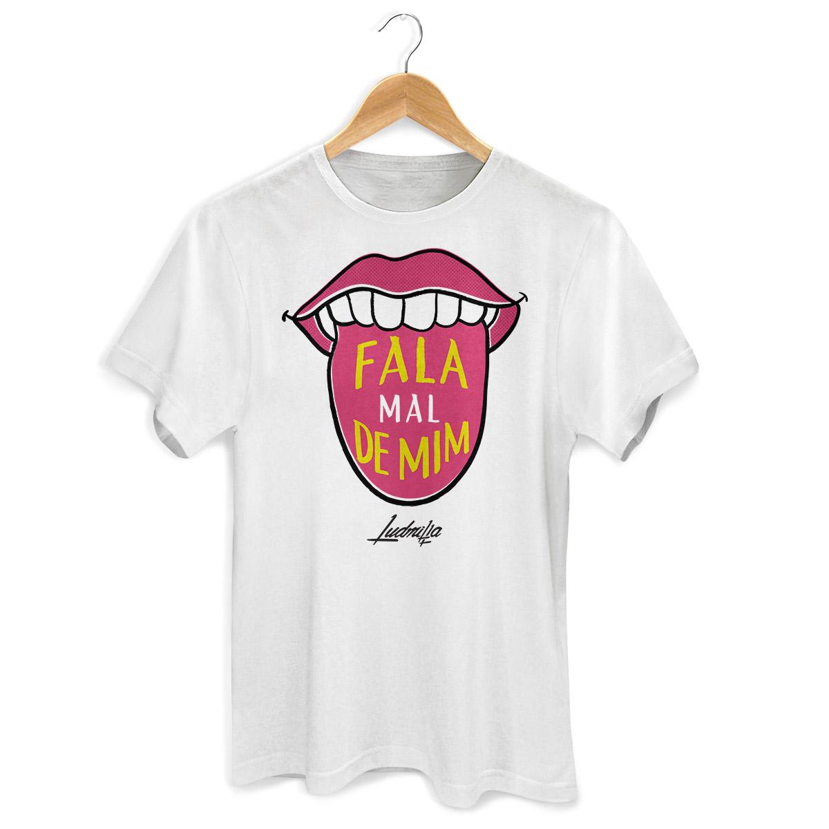 Camiseta Masculina Ludmilla Fala Mal de Mim