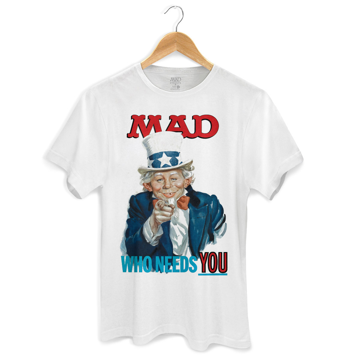 Camiseta Masculina MAD Who Needs You?