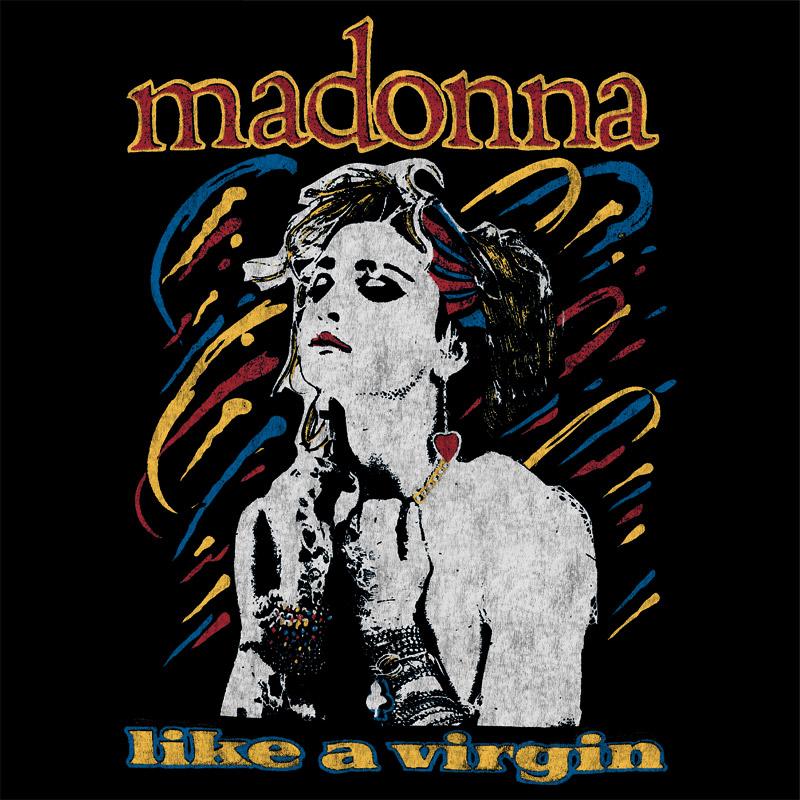 Camiseta Masculina Madonna Like a Virgin 3