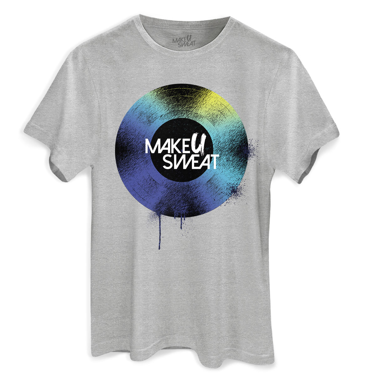 Camiseta Masculina Make U Sweat Disco
