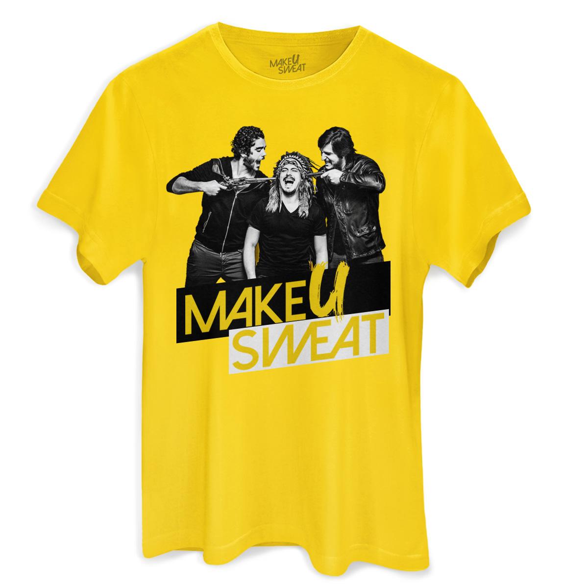 Camiseta Masculina Make U Sweat Foto