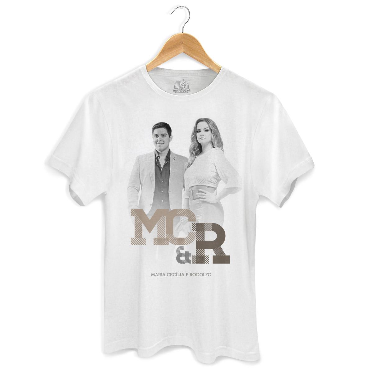 Camiseta Masculina Maria Cec�lia & Rodolfo Foto PB