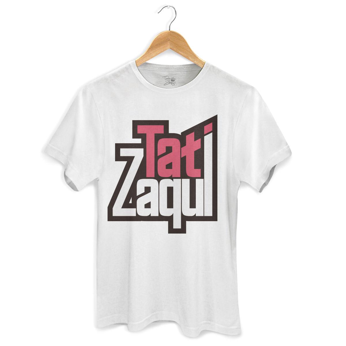 Camiseta Masculina MC Tati Zaqui Logo