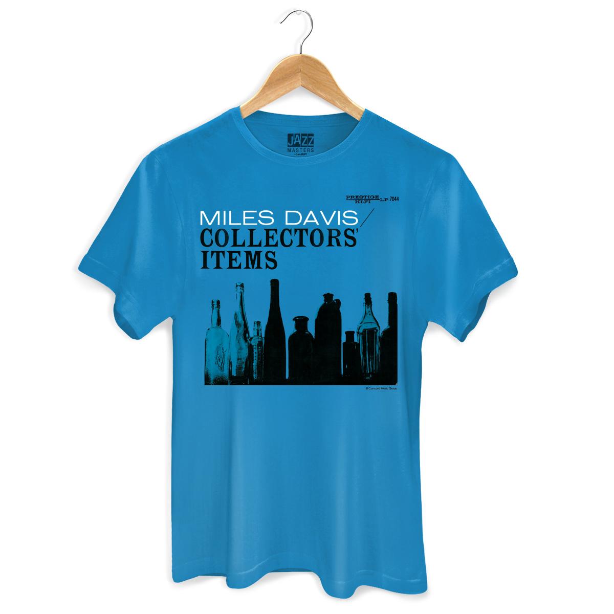 Camiseta Masculina Miles Davis Collectors´ Items