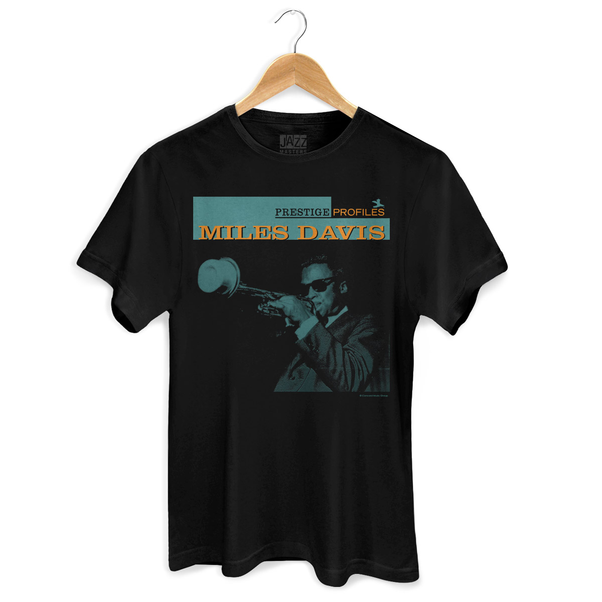 Camiseta Masculina Miles Davis Prestige Profiles