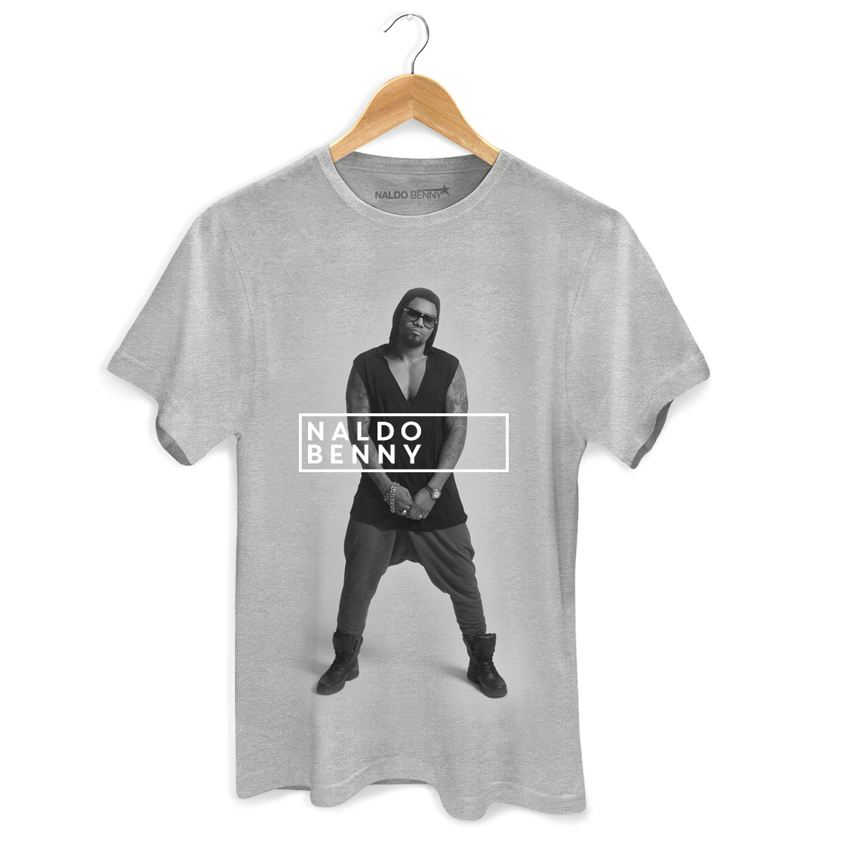Camiseta Masculina Naldo Benny Foto