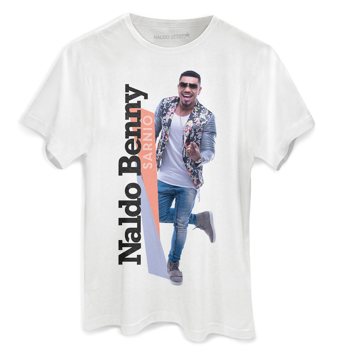 Camiseta Masculina Naldo Benny Sarniô