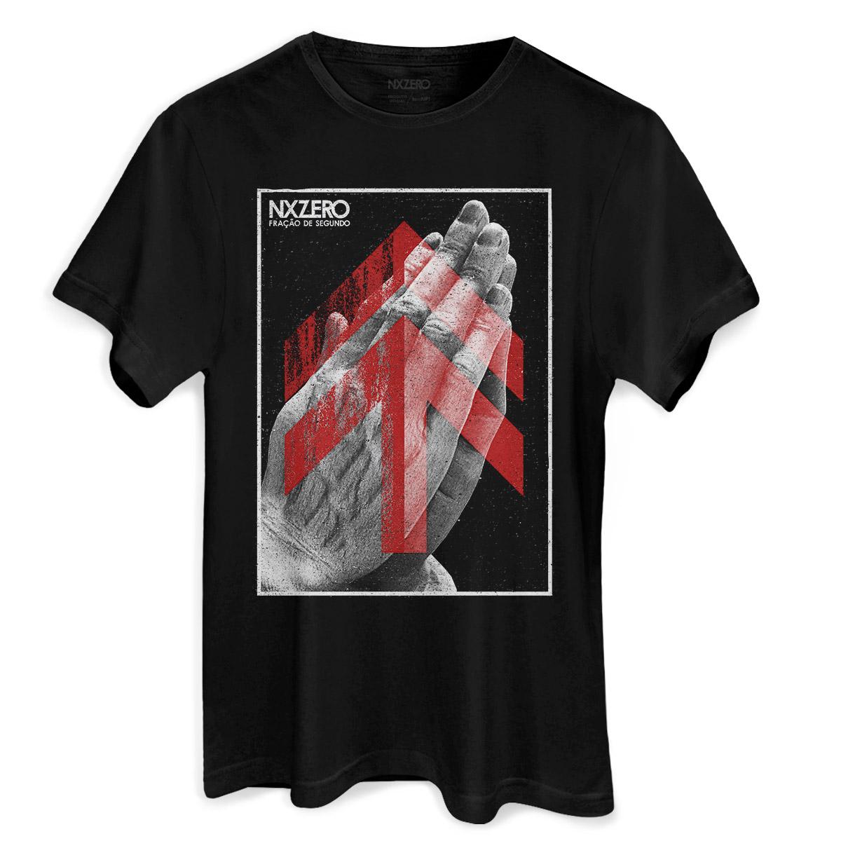 Camiseta Masculina NXZero Fração de Segundo