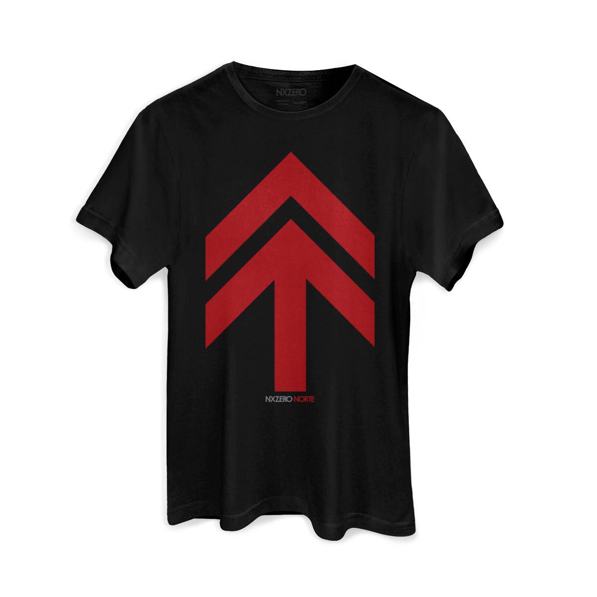 Camiseta Masculina NXZero Norte