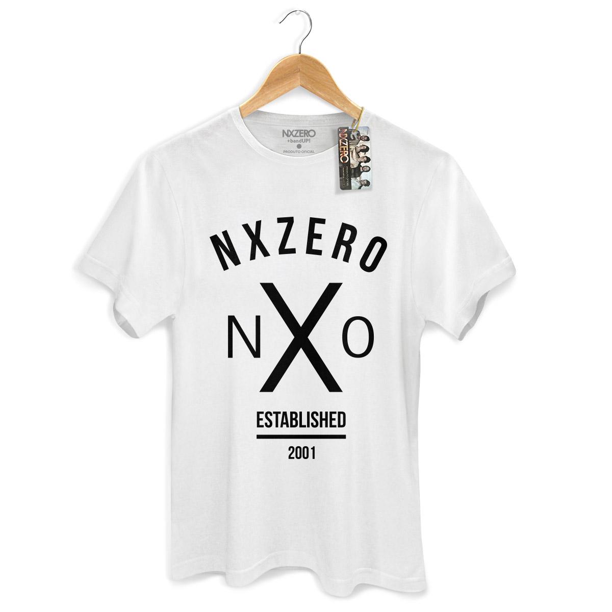 Camiseta Masculina NXZero NX0 Modelo 2
