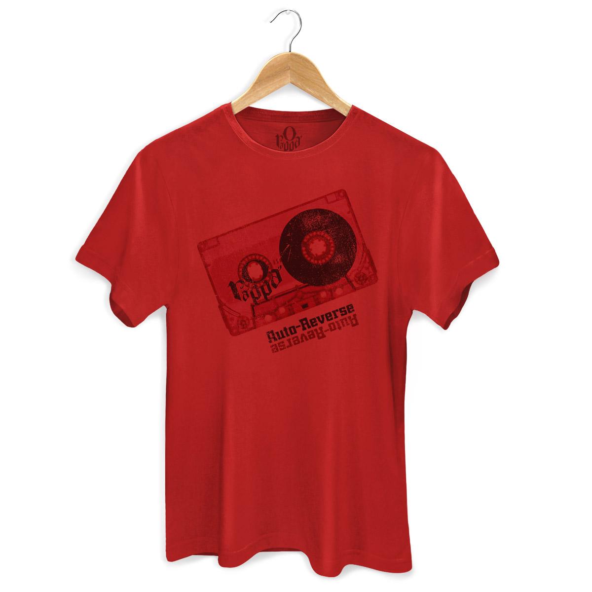 Camiseta Masculina O Rappa Auto-Reverse