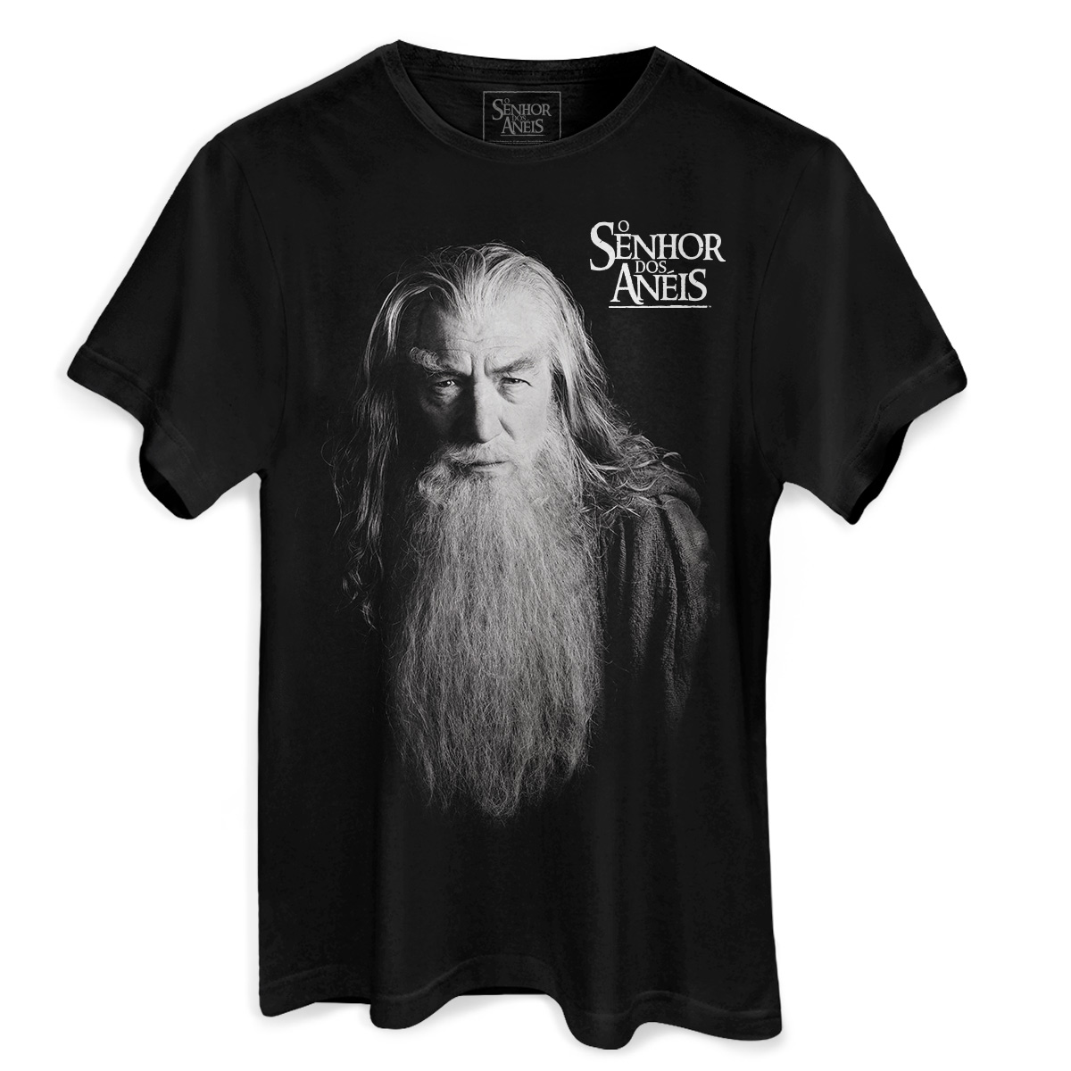 Camiseta Masculina O Senhor dos Anéis Gandalf