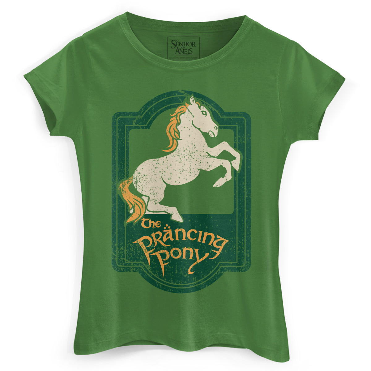 Camiseta Feminina O Senhor dos An�is The Prancing Pony