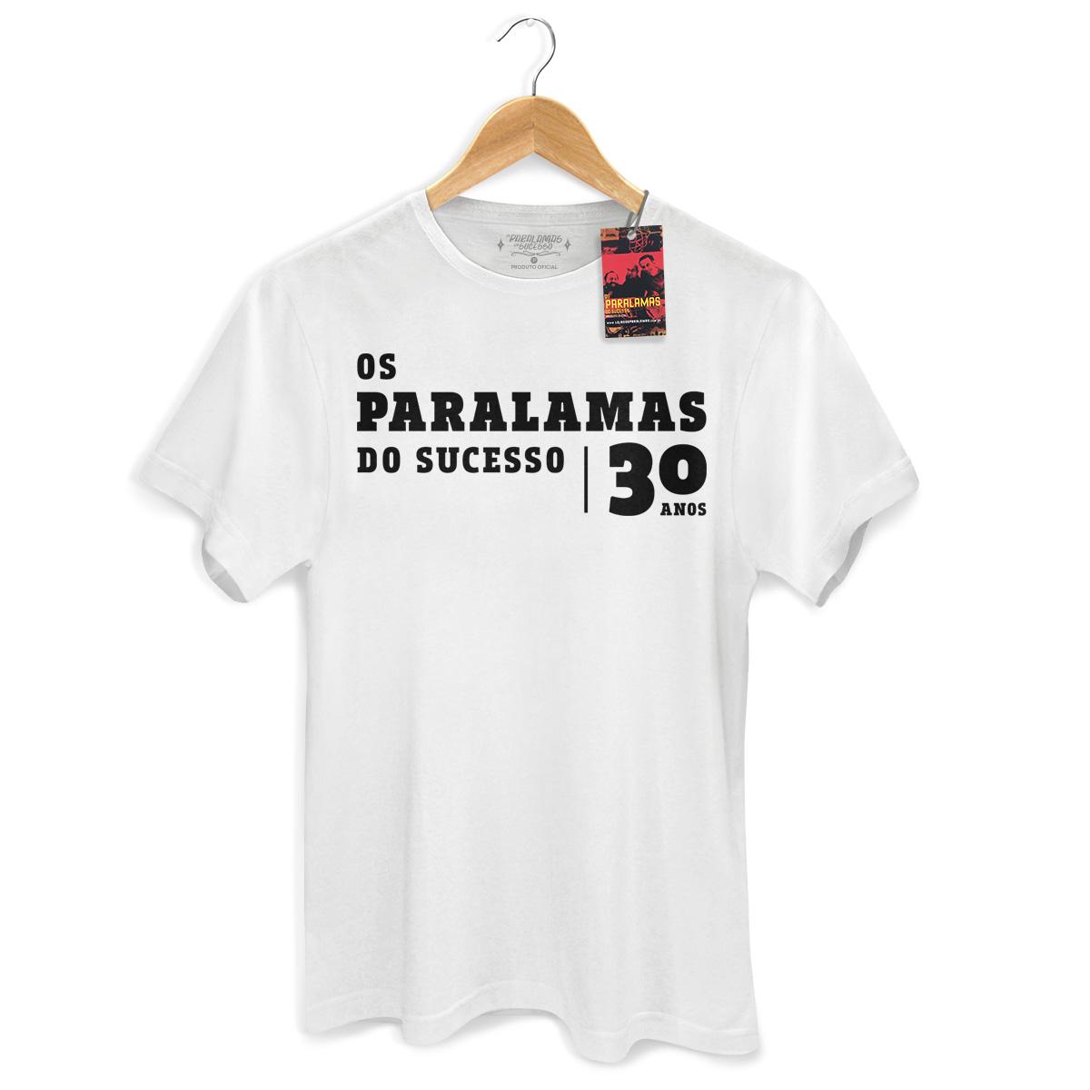 Camiseta Masculina Paralamas do Sucesso 30 Anos Modelo 2