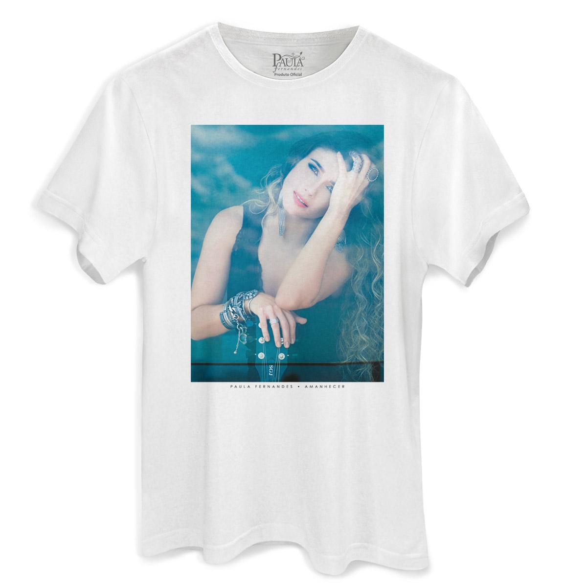 Camiseta Masculina Paula Fernandes Amanhecer Capa