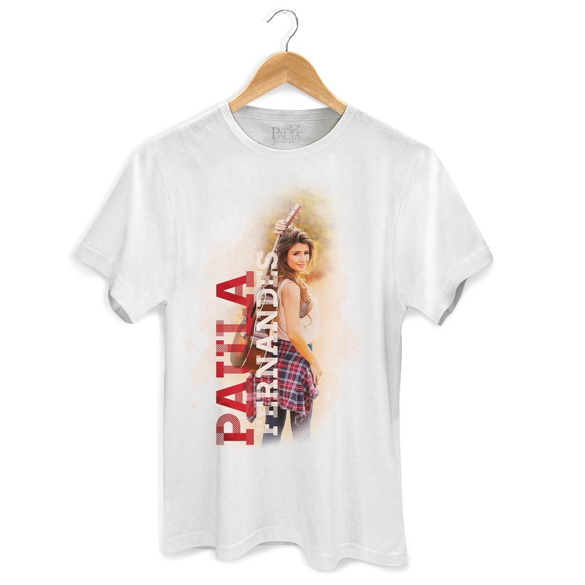Camiseta Masculina Paula Fernandes Colors