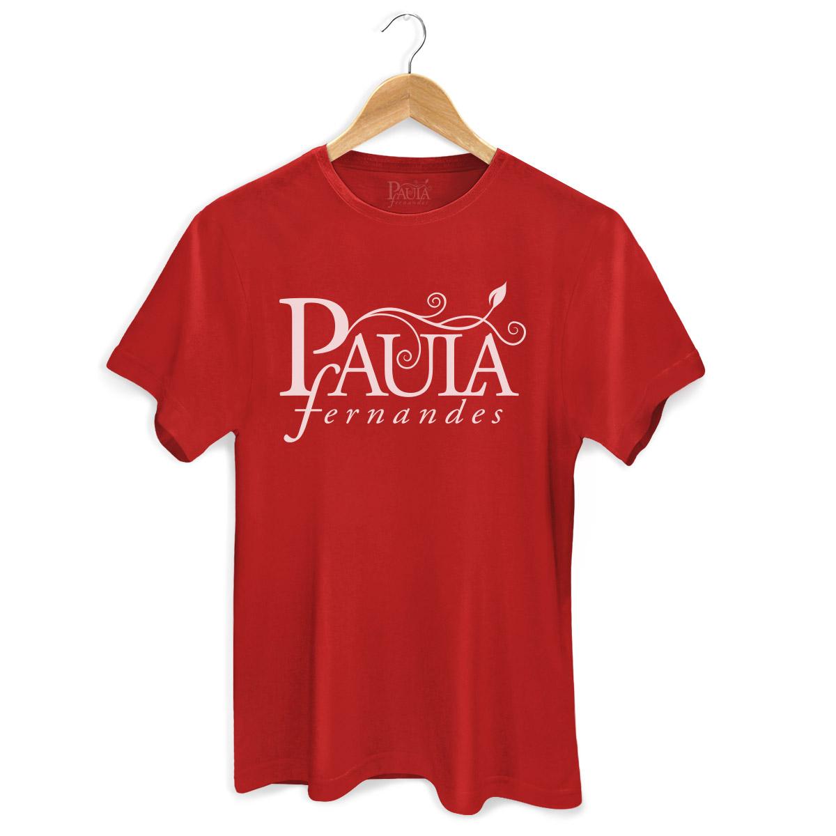 Camiseta Masculina Paula Fernandes Logo