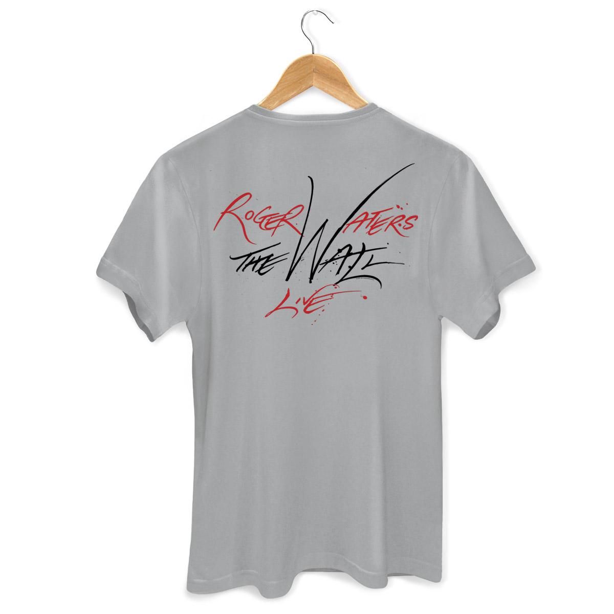 Camiseta Masculina Roger Waters Bombas