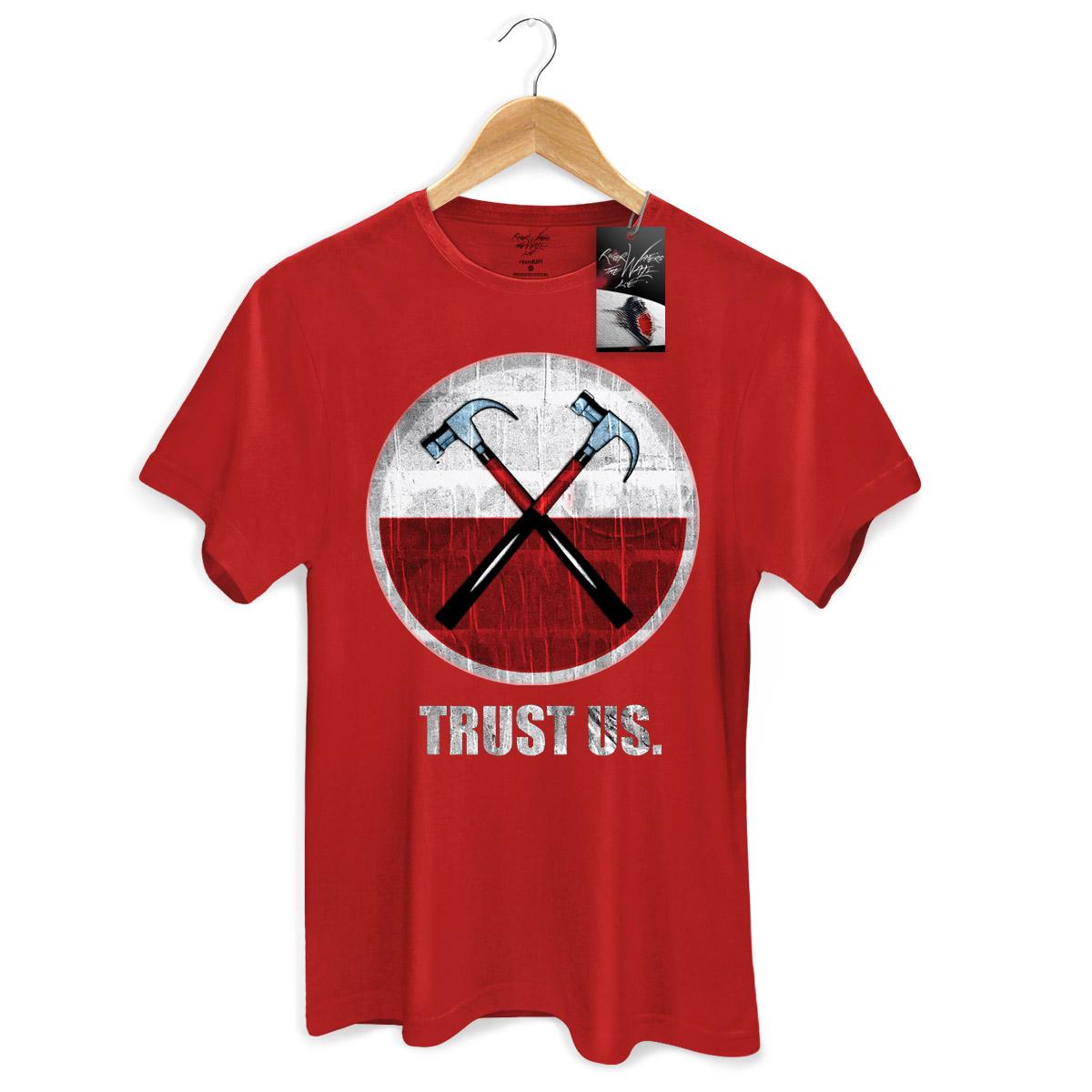 Camiseta Masculina Roger Waters The Wall Ao Vivo Martelos 2