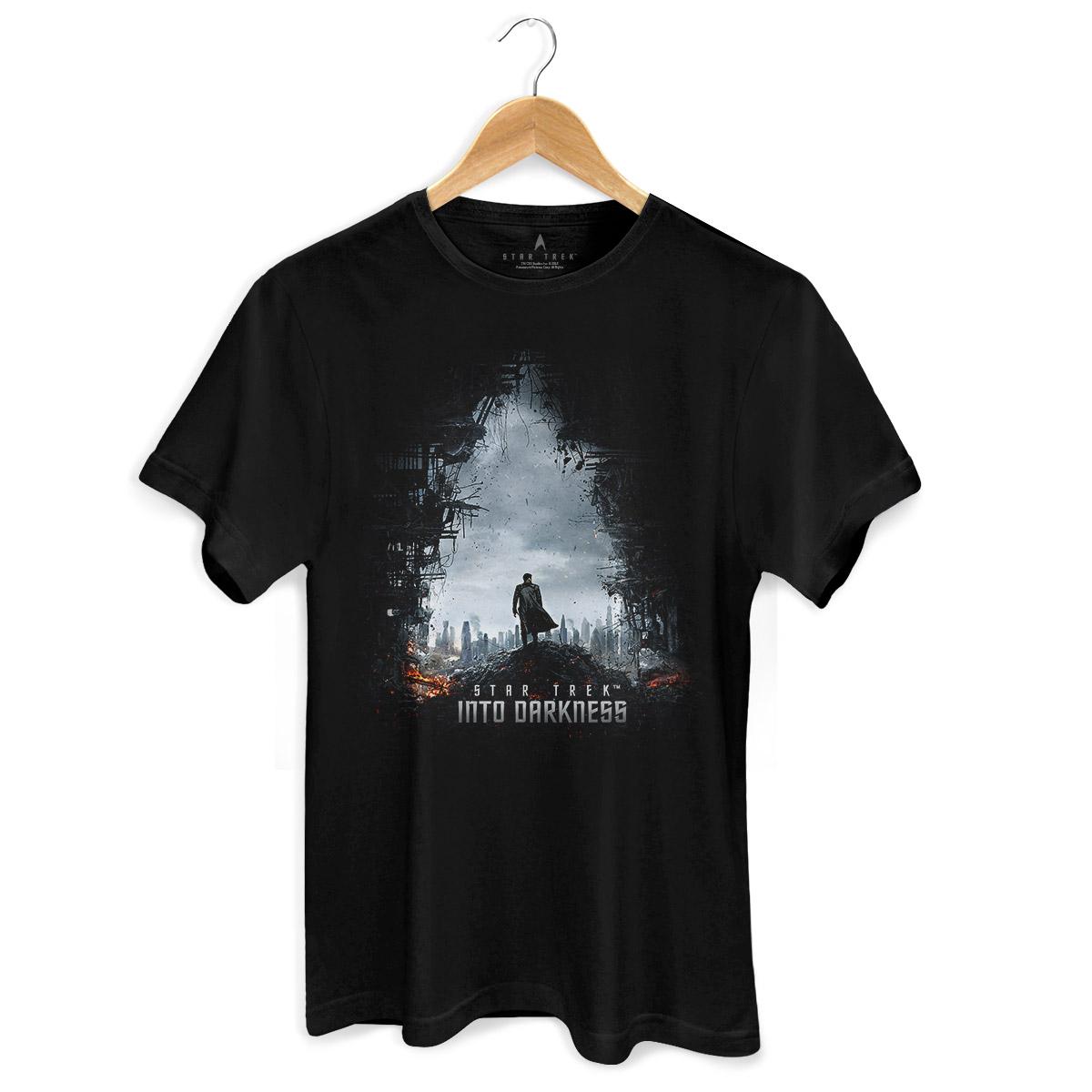Camiseta Masculina Star Trek Into Darkness
