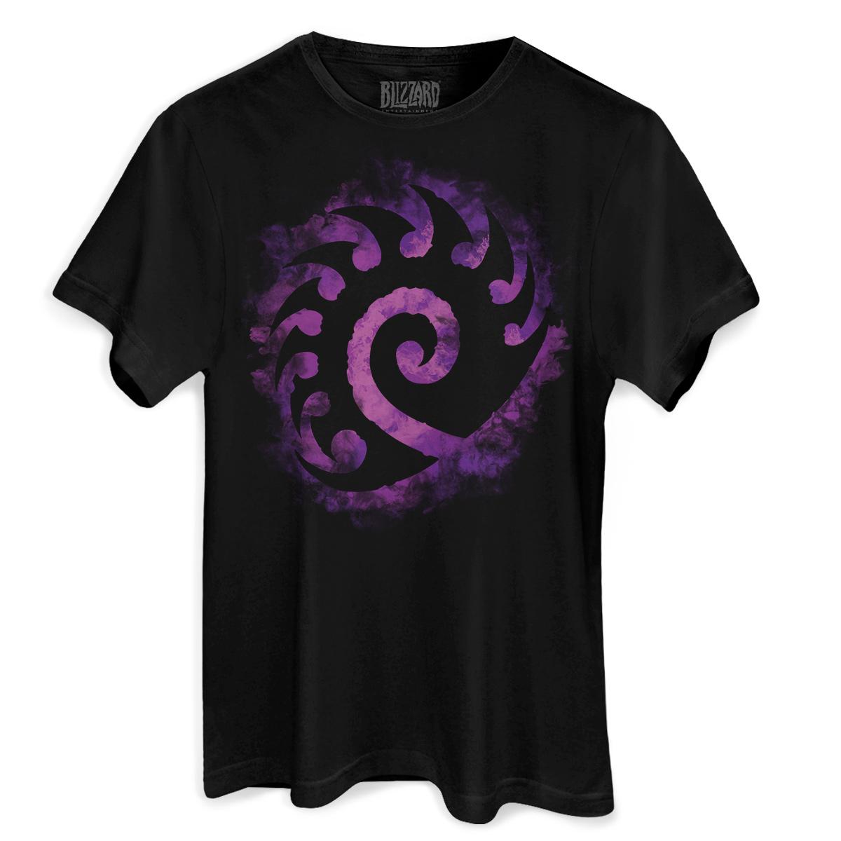 Camiseta Masculina Starcraft 2 Zergs