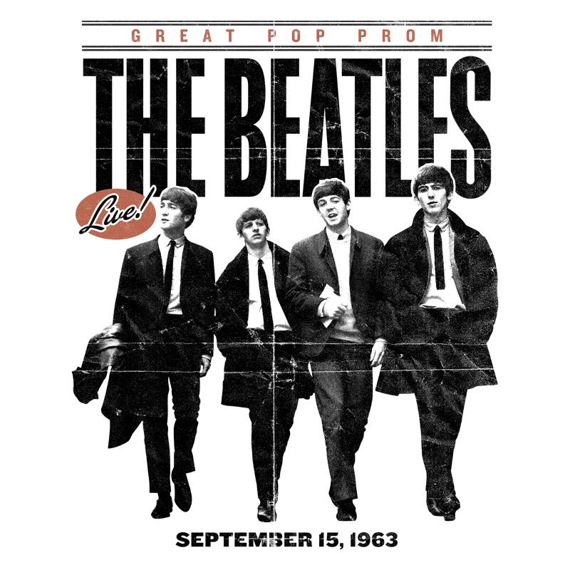 Camiseta Masculina The Beatles Great Pop Prom