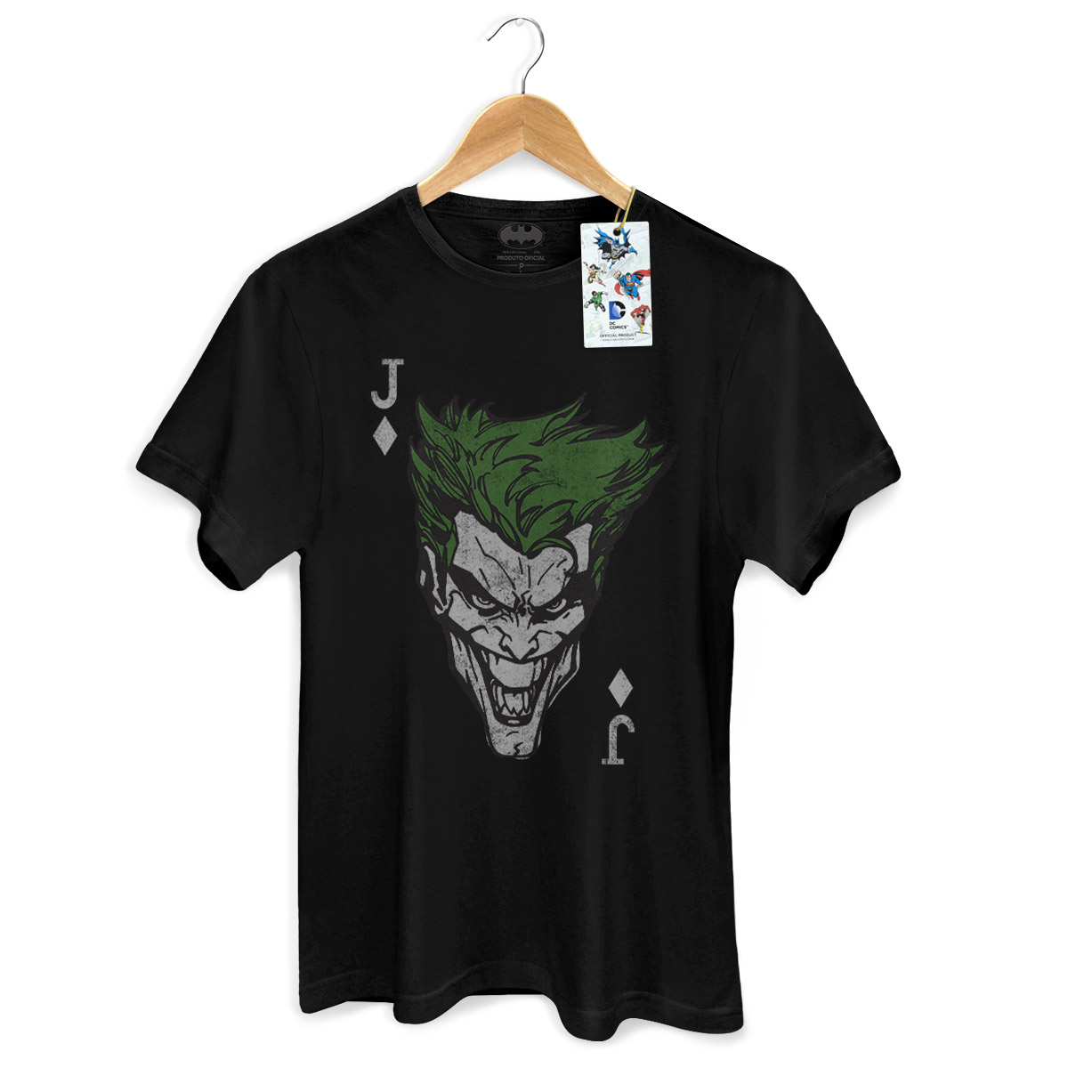 Camiseta Masculina The Joker Card