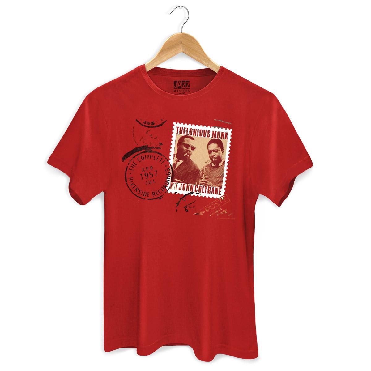 Camiseta Masculina Thelonious Monk With John Coltrane