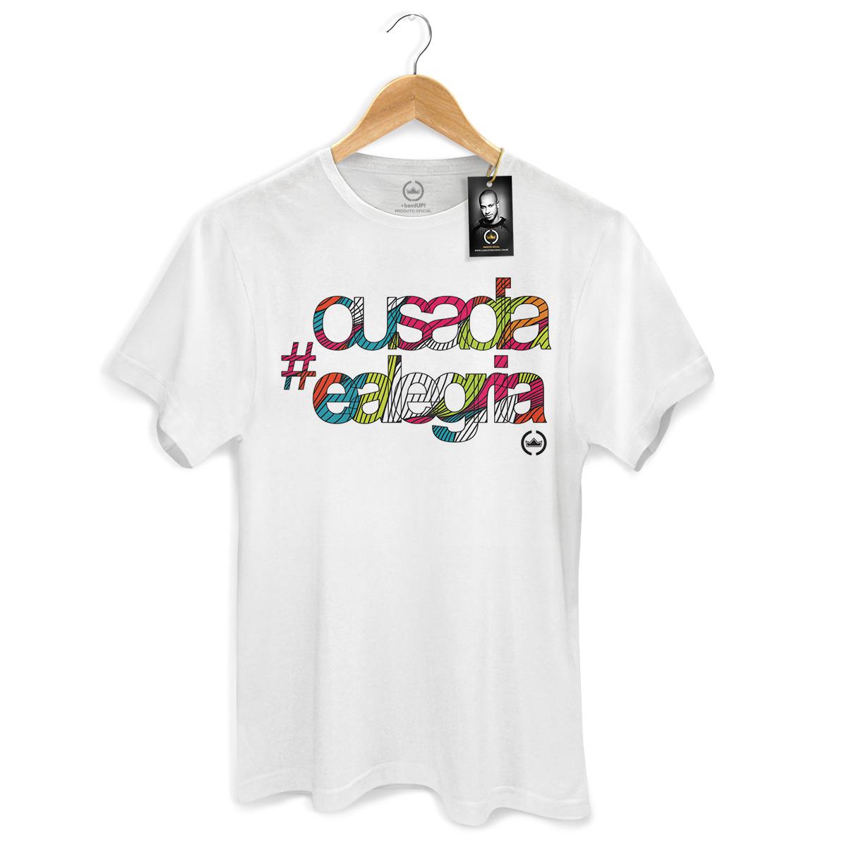 Camiseta Masculina Thiaguinho Ousadia e Alegria Colors