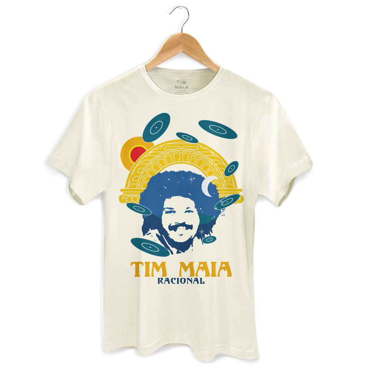 Camiseta Masculina Tim Maia Racional