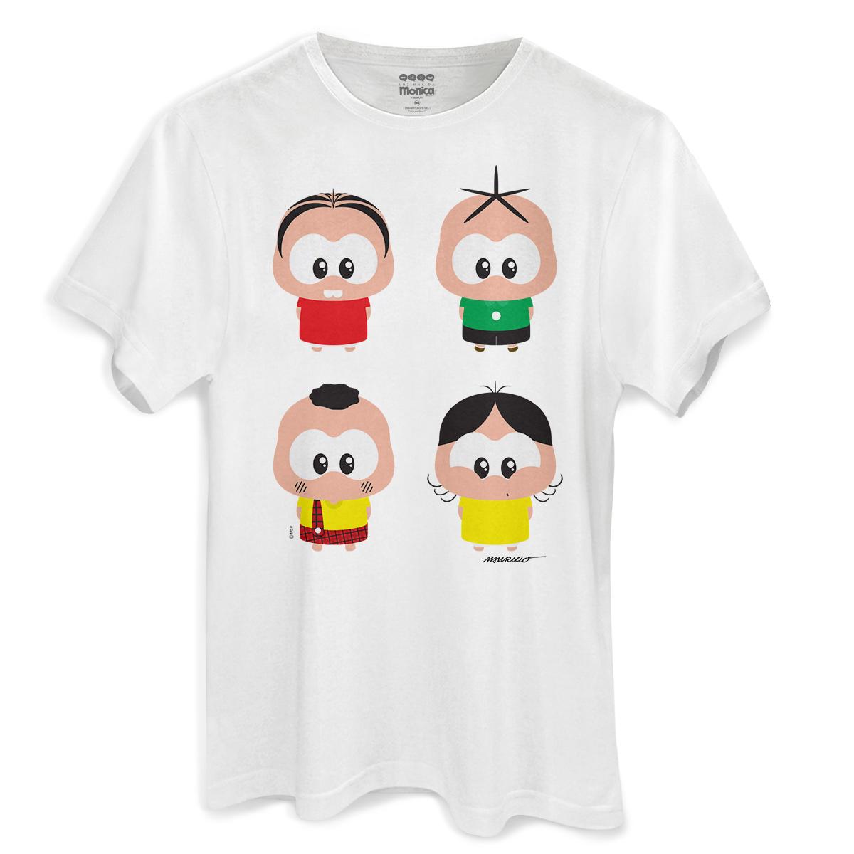 Camiseta Masculina Turma da M�nica A Turma Toy