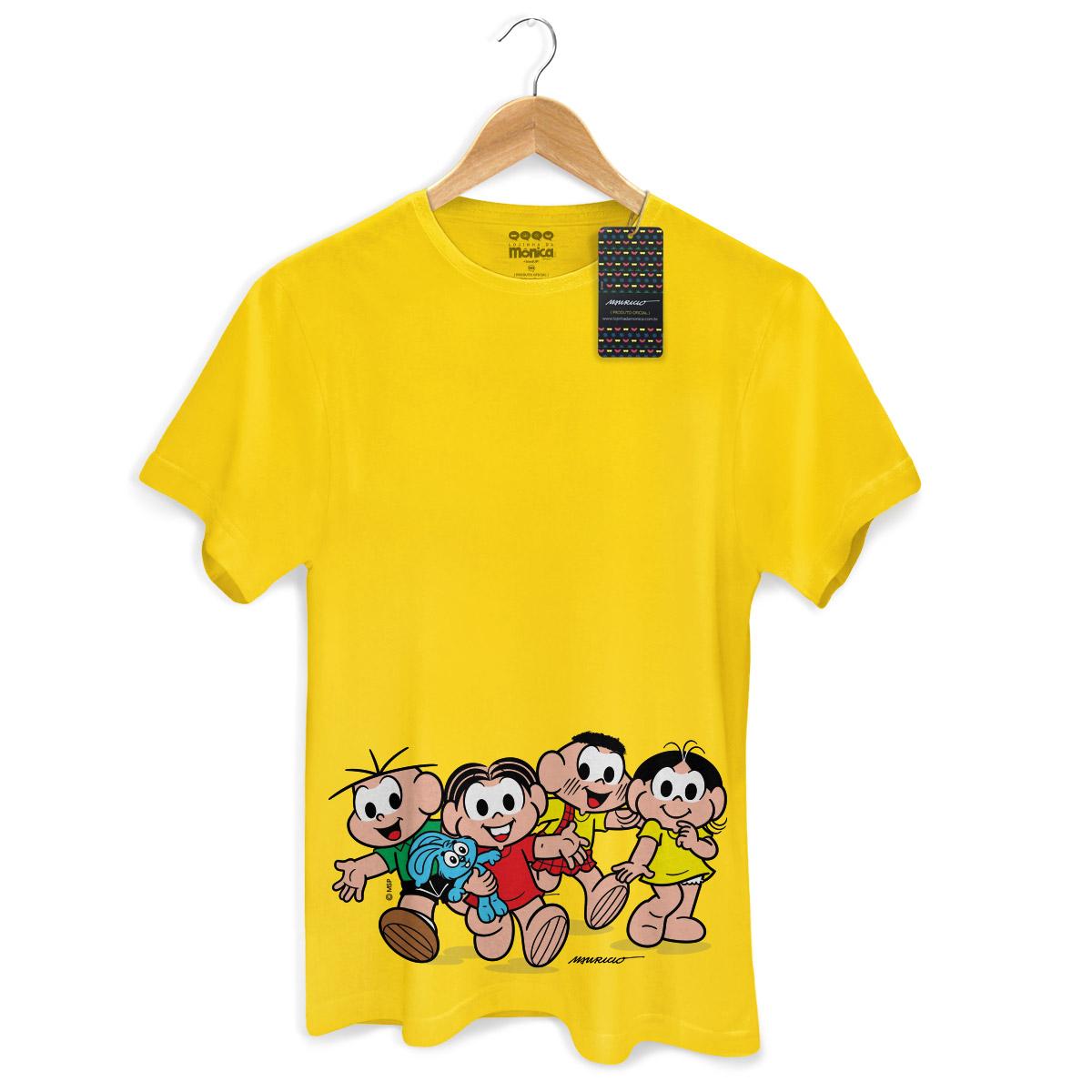 Camiseta Masculina Turma da Mônica Kids A Turma Modelo 2