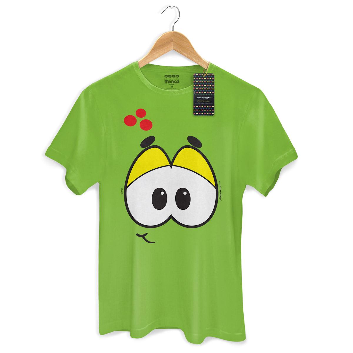 Camiseta Masculina Turma da M�nica Kids Olh�es Hor�cio