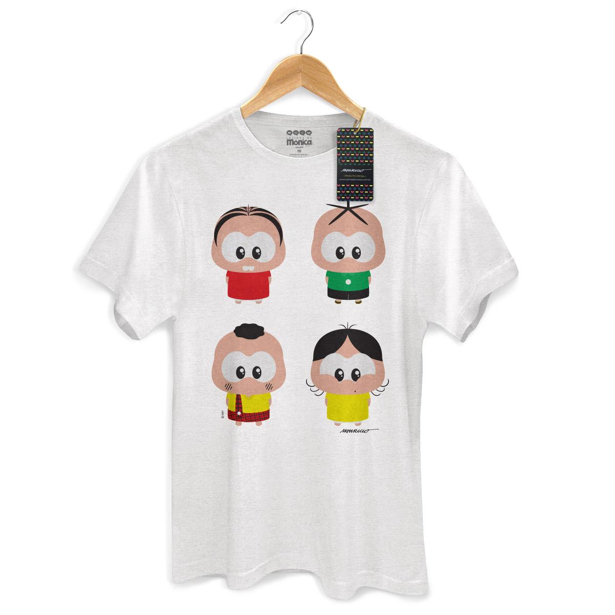 Camiseta Masculina Turma da Mônica Toy A Turma Toy