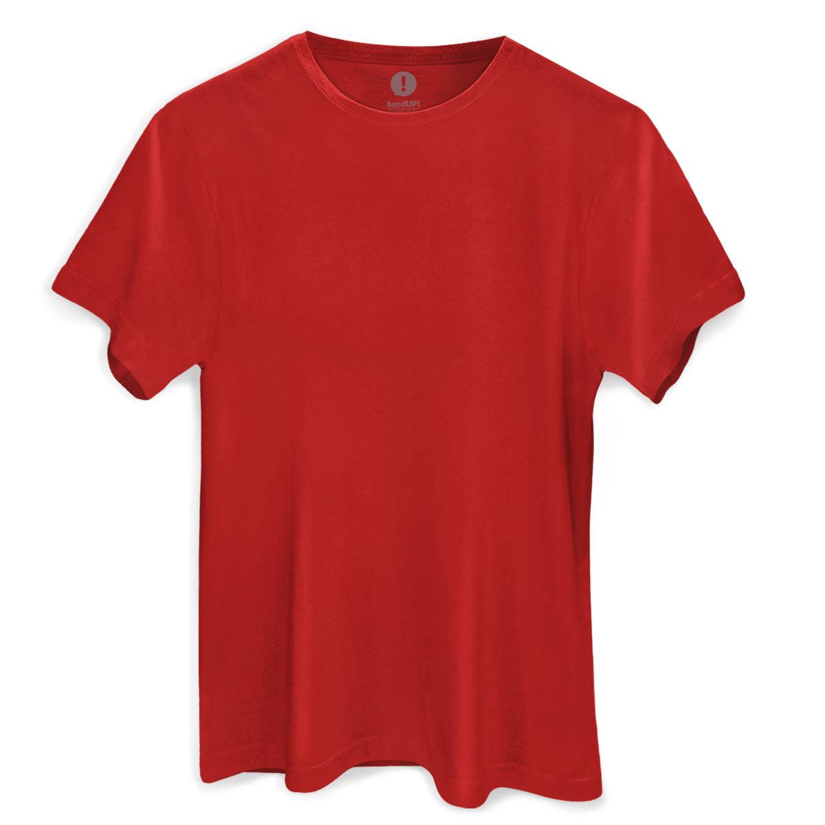 Camiseta Masculina Vermelha