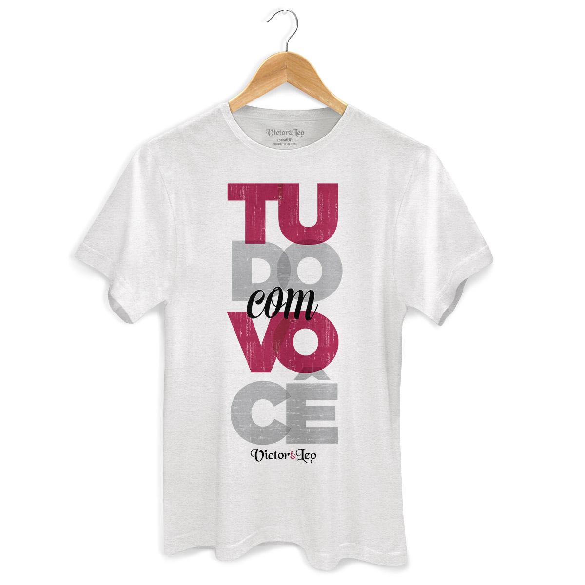 Camiseta Masculina Victor & Leo Tudo Com Você
