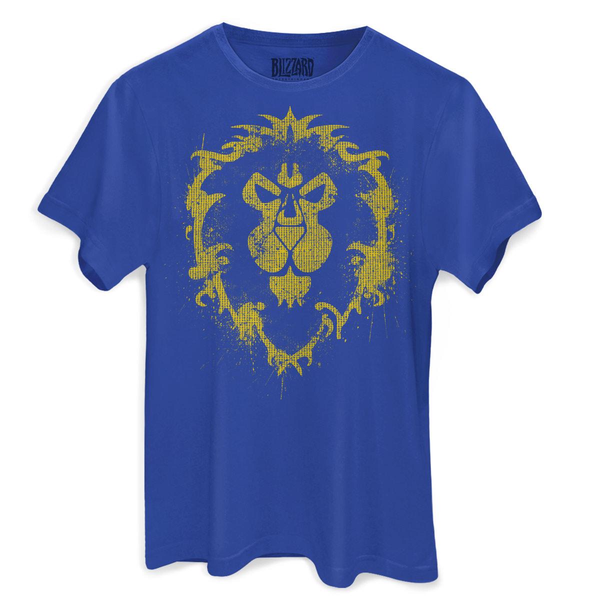 Camiseta Masculina World of Warcraft Aliança